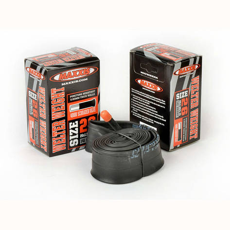 Камера для велосипеда Maxxis Welter Weight 26x1.90/2.125 FV L:48мм,, фото 2