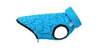 Курточка двусторонняя для собак AiryVEST UNI S38: А: 35-38см - В: 45-56см - С: 28-34см, Голубой