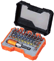 Набор бит с магнитным держателем | Набір біт PRO з/трим.32шт., кейс TC [INSOTOTVMB1032PMT0]