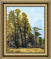 Набор для вышивки крестом Осенний лес №390