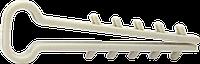 Дюбель-ёлочка для плоского кабеля | Дюбель-ялинка 10x5мм д/пл.кабелю [SC0000000KTEP10000]
