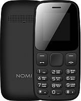 Мобильный телефон Nomi i144c Dual Sim Black, 1.44 (128х128) TN / клавиатурный моноблок / ОЗУ 32 МБ / 32 МБ
