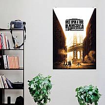 "Постер ""Однажды в Америке"". Once Upon A Time In America, постер №2. Размер 60x40см (A2). Глянцевая бумага, фото 3"