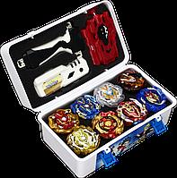 Набор бейблейд Вальтрек Beyblade Box 8 шт. бейблэйд бокс