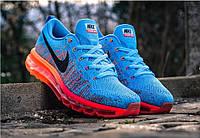 Кроссовки Nike Air Max Flyknit 2014 blue - 1480