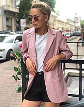 Пиджак женский классический из льна