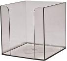 Куб для бумаги ( прозрачный) 90x90x90 мм Delta D4005-27