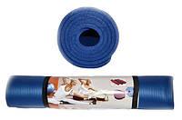 Коврик для йоги и фитнеса. Размер 185 х 80 х 1 см