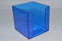 Куб для бумаги (синий) 90x90x90 мм Delta D4005-02