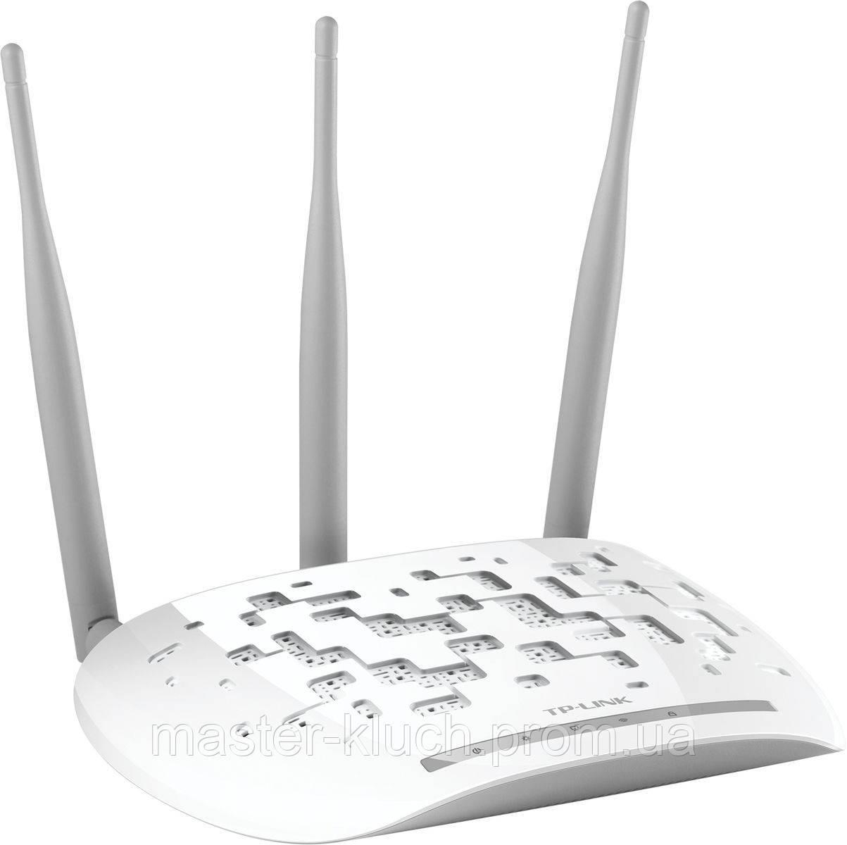 Точка доступа TP-LINK TL-WA901ND Wi-Fi 802.11g/n 300Mb, PoE, 3 антенны - Мастер-ключ в Запорожье