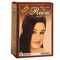 Натуральная краска для волос REEM GOLD – Бургунд на основе хны