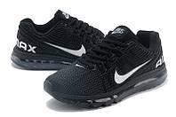 Женские кроссовки Nike Air Max 2013 black, фото 1