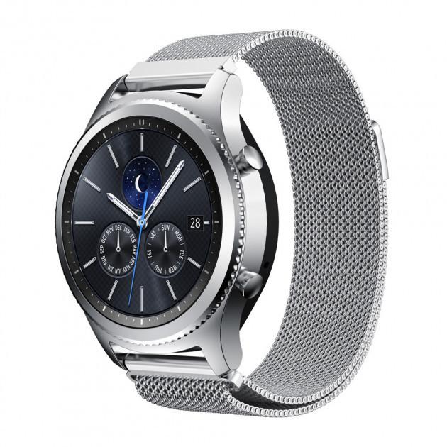Ремешок миланская петля BeWatch для Samsung Gear S3 Silver (1020205)