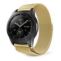 Ремешок BeWatch миланская петля для Samsung Galaxy Watch 42 мм Золото (1010228.3), фото 1