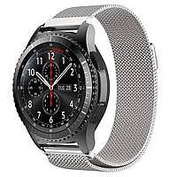 Ремешок BeWatch миланская петля для Samsung Galaxy Watch 46 мм Серебро (1020205.2), фото 1