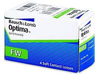 """Контактные линзы мягкая белая """"Optima"""", Bausch and Lomb USA"""
