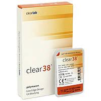 Линзы контактные гидрогелевые Clear 38 -срок ношения 3 месяца