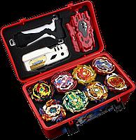 Beyblade Box Fire Dragon 8 шт. бейблейд набор Огненный дракон