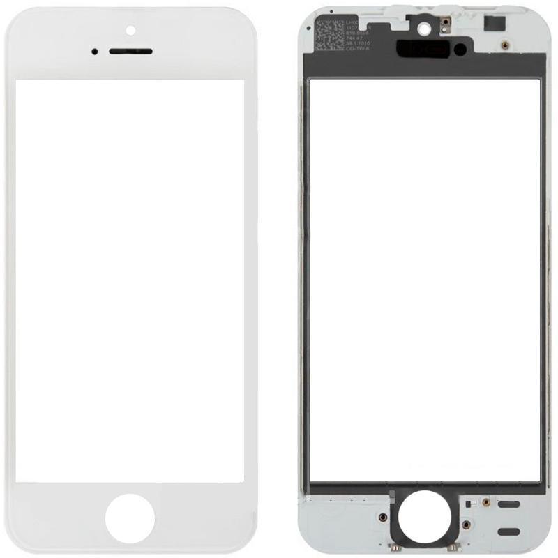 Стекло + Рамка + Oca iPhone 5 White