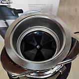 Кухонный измельчитель пищевых отходов Kraissmann 740 LAS 1000 с Кнопкой, фото 5