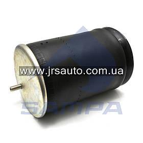 Пневморессора SAF (металлический стакан) (2 шп. M12 по центру,1 отв. штуц. M22х1.5мм) 1DK258747 \9463280401 \ SP 550081-K