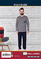 Мужская пижама Cocoon hall.l93943 original сине-серая (4xl)