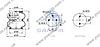 Пневморессора, бублик двойной в сборе 895N - 2B12R-3 SAF (d216x200) \4229100400 \ SP 55220-2P08, фото 2