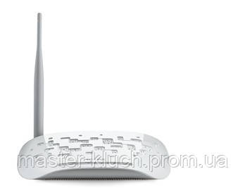 Модем-роутер ADSL TP-LINK TD-W8151N ADSL2+, 1 LAN, Wi-Fi 802.11 g/n, 150Mb