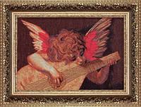 Набор для вышивки крестом По мотивам Россо Фиорентино Ангел с лютней №429