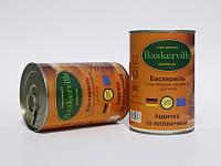 Консервы Baskerville для кошек индейка и говядина, 400 г, фото 1