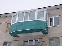 Расширение балконов, создание балконов.
