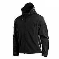 M-Tac Куртка флисовая Windblock Division Gen.2 черная