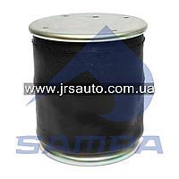 Пневморессора со стаканом в сборе (сталь) SCANIA 3, SAF, 4813NP07 (4 отв.+возд. / 4 отв.) (d345x385) \1314906 \ SP 554813-K