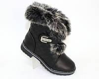 Зимние ботинки для девочек, фото 1