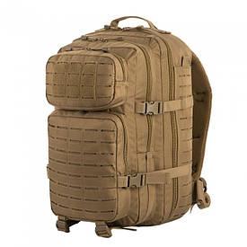 M-Tac Рюкзак Large Assault Pack Laser Cut 36 л койот