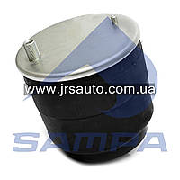 Пневморессора со стаканом в сборе (сталь) Renault 4929NP02 (2 шп-штуц.М12 M24x1.5M16x1.5) (d280x280) \5010557623 \ SP 554929-K
