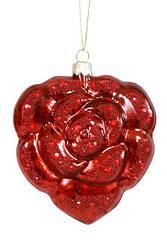 Елочное украшение в форме сердца, 14.5см BonaDi 118-S54