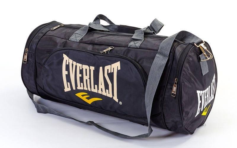 Сумка для спортзала Бочонок EVERLAST GA-016 (Черный)