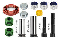 Ремкомплект суппорта, направляющие (полный) 12999699, 12999702 для Meritor, Iveco, MAN, Renault