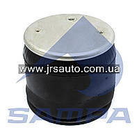 Пневморессора со стаканом в сборе (пластик) 1T15AA3, Scania 3s/4s (подвесная ось,2 отв. M12 1 отв. шт.) \SP 556251-KP