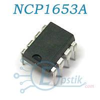NCP1653A, PFC контроллер, DIP8
