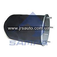 Пневморессора без стакана 810 MB/O, ROR, SAF (4 шп. M12, 1 отв. штуц. M22х1.5мм) \SP 55810