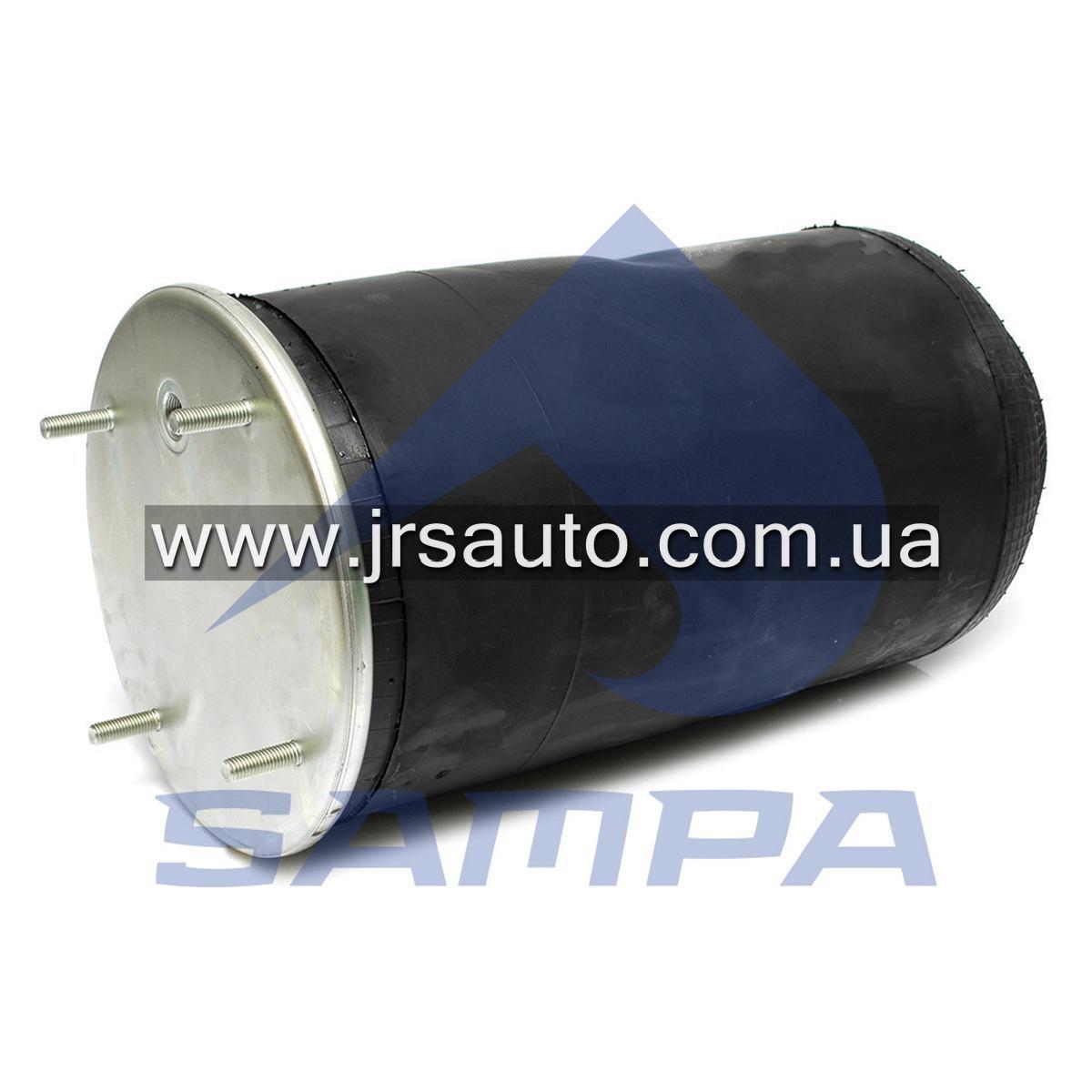 Пневморессора без стакана SAF/Trailor/МАЗ/ROR, 813MB/O (4 шп. M12, 1отв. штуц. M22х1.5мм) \SP 55813