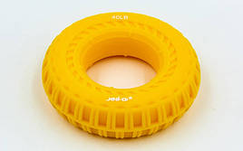 Эспандер кистевой Кольцо 40LB JELLO JLA470-40LB (силикон, нагрузка 40LB(18кг), желтый)