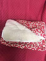Одеяло/ковдра овчина двуспальный размер 200х220, фото 1