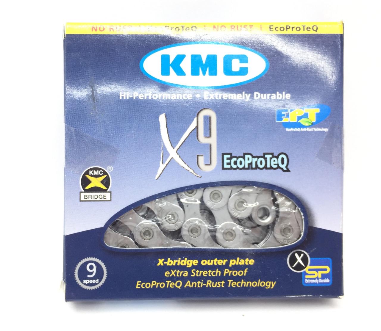 Ланцюг - цепь КМС Х9 ЕРТ 1/2x11/128x116L, 9 шв.