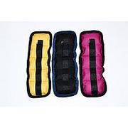 Утяжелители на липучке (жёлтые/чёрные/розовые) - 0,5 кг (вес и цена за пару)