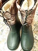 Сапоги мужские средней высоты  ЭВА (пена) на утеплителе , 41-46 размеры.