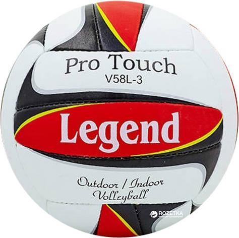 Мяч волейбольный PU LEGEND LG5406 (PU, №5, 3 слоя, сшит вручную) (LG5406), фото 2
