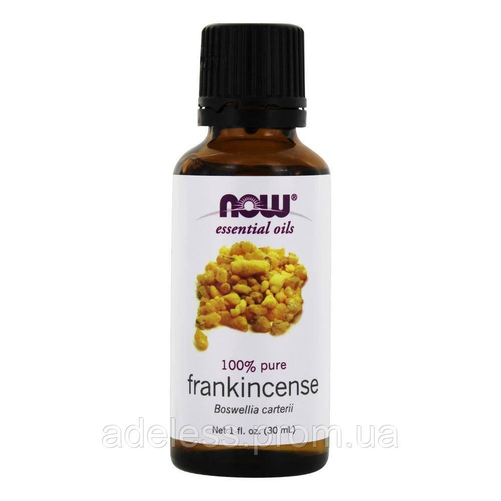 Эфирное масло Ладана Now Foods Frankincense oil 100% pure, 30 мл